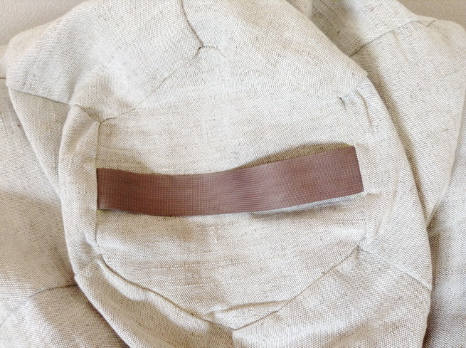 Крісло-мішок - натуральна тканина