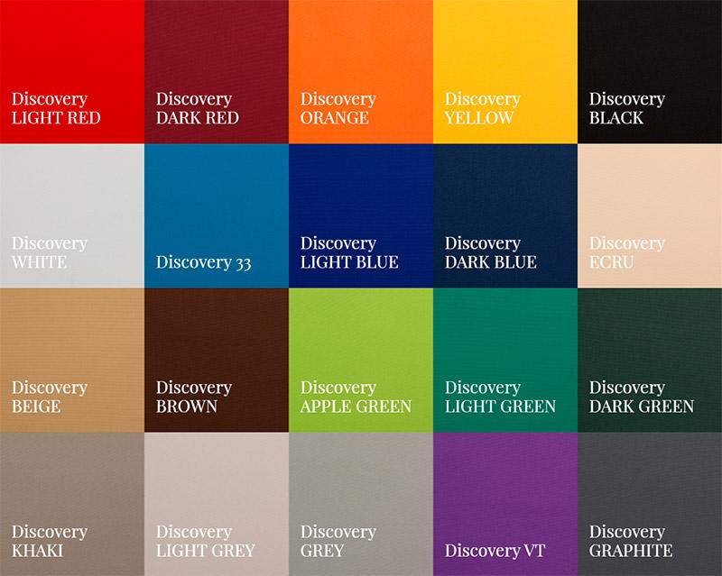 Тканина Discovery - кольори