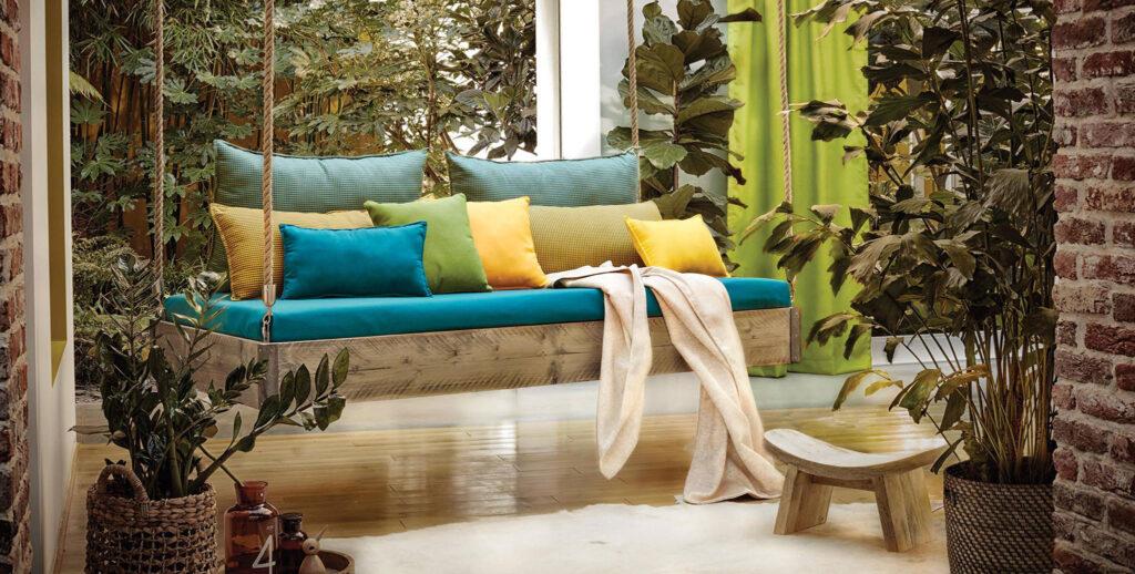 Вуличні штори з акрилової тканини